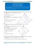 Toán 12: Thể tích khối chóp-P3 (Đáp án Bài tập tự luyện) - GV. Lê Bá Trần Phương