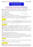 Toán học lớp 11: Bài toán về xác xuất (Phần 2) - Thầy Đặng Việt Hùng