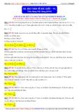 Toán học lớp 11: Bài toán về xác xuất (Phần 1) - Thầy Đặng Việt Hùng