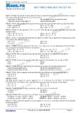 Hóa học lớp 10: Biến thiên tính chất nguyên tố