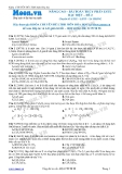 Chuyên đề LTĐH môn Hóa học: Nâng cao-Bài toán thủy phân este đặc biệt (Đề 2)