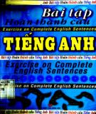 Tổng hợp bài tập hoàn thành câu Tiếng Anh: Phần 1