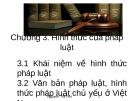 Bài giảng Pháp luật đại cương: Chương 3 - Nguyễn Thị Yến