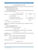 Vật lý 12: Điện xoay chiều-các mạch điện xoay chiều (Lý thuyết)