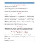 Vật lý 12: Cực trị công suất điện (Lý thuyết)
