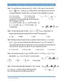 Vật lý 12: Điện xoay chiều-Bài toán cực trị (Trắc nghiệm)