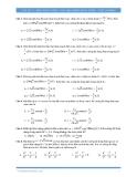 Vật lý 12: Điện xoay chiều-các mạch điện xoay chiều (Trắc nghiệm)