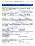 Luyện thi ĐH môn Hóa học 2015: Hướng dẫn giải bài tập hay và khó este (Phần 1.2)