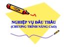 Bài giảng Nghiệp vụ đấu thầu (Chương trình nâng cao) - Viện Phát triển Quốc tế học