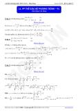 Luyện thi Đại học môn Toán: Phương pháp thế giải hệ phương trình-P1 - thầy Đặng Việt Hùng