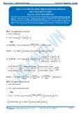 Toán 12: Các phương pháp tính nguyên hàm-P2 (Đáp án Bài tập tự luyện) - GV. Lê Bá Trần Phương