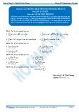 Toán 12: Các phương pháp tính nguyên hàm-P1 (Bài tập tự luyện) - GV. Lê Bá Trần Phương