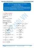 Toán 12: Các phương pháp tính tích phân-P3 (Bài tập tự luyện) - GV. Lê Bá Trần Phương