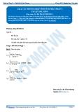 Toán 12: Các phương pháp tính tích phân-P1 (Tài liệu bài giảng) - GV. Lê Bá Trần Phương