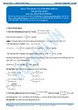 Toán 12: Ứng dụng tích phân-P1 - GV. Lê Bá Trần Phương