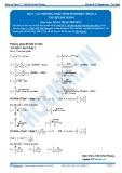 Toán 12: Các phương pháp tính tích phân-P2 (Tài liệu bài giảng) - GV. Lê Bá Trần Phương