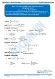 Toán 12: Các phương pháp tính tích phân-P3 (Tài liệu bài giảng) - GV. Lê Bá Trần Phương