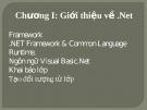 Bài giảng VB.net - Chương 1: Giới thiệu về .net