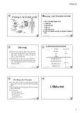 Bài giảng Sinh học động vật: Chương 1 - Nguyễn Hữu Trí