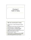 Bài giảng Tổng quan về cài đặt và quản trị mạng: Chương 5 - Bùi Trọng Tùng