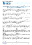 Chuyên đề LTĐH môn Vật lý: Hiện tượng giao thoa sóng âm