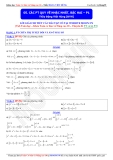 Toán học lớp 10: Các phương trình quy về bậc nhất, bậc hai (Phần 1) - Thầy Đặng Việt Hùng