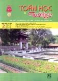 Tạp chí Toán học và tuổi trẻ số 416 tháng 2 năm 2012