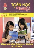 Tạp chí Toán học và tuổi trẻ số 424 tháng 10 năm 2012