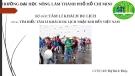 Báo cáo Tâm lý khách du lịch: Tìm hiểu tâm lí khách du lịch nhật khi đến Việt Nam