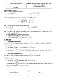 Đề và đáp án ôn tập Toán 11 HK 2 (Đề số 27)