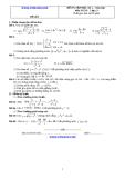Đề và đáp án ôn tập Toán 11 HK 2 (Đề số 2)