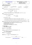 Đề và đáp án ôn tập Toán 11 HK 2 (Đề số 1)