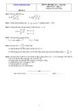 Đề và đáp án ôn tập Toán 11 HK 2 (Đề số 12)