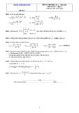 Đề và đáp án ôn tập Toán 11 HK 2 (Đề số 4)