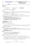 Đề và đáp án ôn tập Toán 11 HK 2 (Đề số 17)
