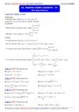Luyện thi Đại học môn Toán 2015: Phương trình logarith (phần 1) - Thầy Đặng Việt Hùng