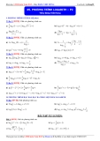 Luyện thi Đại học môn Toán 2015: Phương trình logarith (phần 2) - Thầy Đặng Việt Hùng