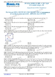 Chuyên đề LTĐH môn Hóa học: Căn bản-Phương pháp xác định vị trí cấu tạo của kim loại (phần 1)