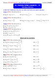 Luyện thi Đại học môn Toán 2015: Phương trình logarith (phần 3) - Thầy Đặng Việt Hùng