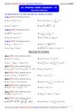 Luyện thi Đại học môn Toán 2015: Phương trình logarith (phần 4) - Thầy Đặng Việt Hùng
