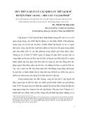 Bài viết khoa học: Duy trì và quản lý các kho lưu trữ lịch sử huyện ở Bắc Giang – nhu cầu và giải pháp