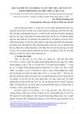 Bài viết khoa học: Đào tạo thư ký văn phòng và lưu trữ viên – đề xuất từ kinh nghiệm đào tạo thế giới và Việt Nam