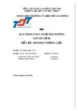 Báo cáo chuyên đề: Bể lọc nhanh trọng lực