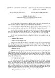 Thông tư liên tịch 55/2005/TTLT-BNV-VPCP