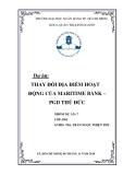 Dự án: Thay đổi địa điểm hoạt động của Maritime Bank – PGD Thủ Đức