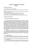 Bài giảng Chương 2: Chứng từ kế toán và kiểm kê