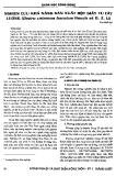 Báo cáo Khoa học công nghệ: Nghiên cứu khả năng sản xuất bột giấy từ cây luồng