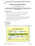 Đề thi chứng chỉ B Tin học Quốc gia - ĐH KHTN
