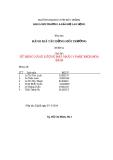 Báo cáo đánh giá tác động môi trường: Sử dụng năng lượng hạt nhân vì mục đích hòa bình (nhóm 5)
