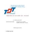 Báo cáo đề tài: Trạm bơm lưu vực Nhiêu Lộc - Thị Nghè (Nhóm 11)